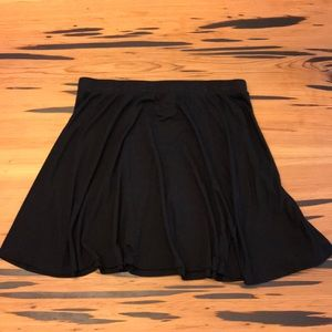 Black Full Skirt